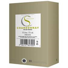 Cote Soleil Chardonnay - 10 liter Bag in Box