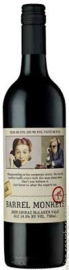 Barrel Monkey's Red Heads Shiraz 2015