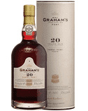 Graham's  20 Year Old Tawny Port  in tube - 75cl