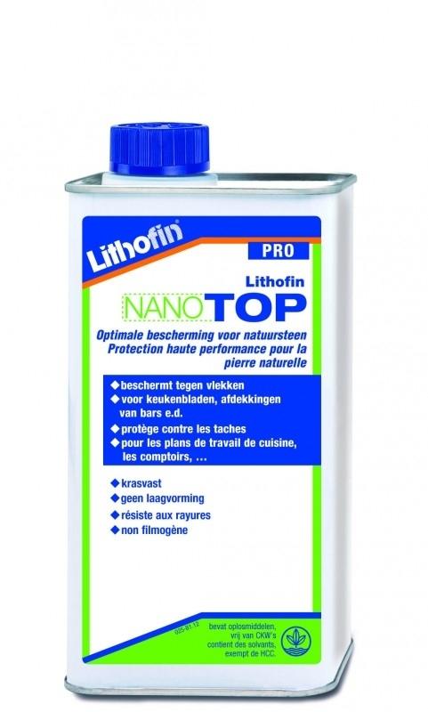 Lithofin Nano Top speciale impregneer voor marmer en natuursteen 1L