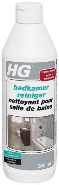 HG natuursteen reinigen met HG natuursteen badkamer reiniger