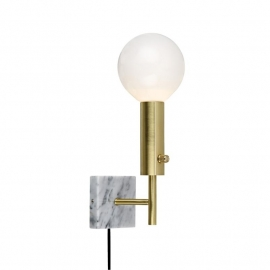 MARBLE SQUARE Wall Brass