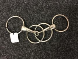 Watertrens met dubbele ringen | 13 cm