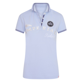 Imperial Riding Polo Shirt True Colors | Blue Pearl
