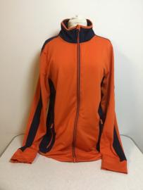 KNHS  Heren-Vest  Oranje/Blauw  XL