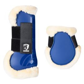 HORKA PVC Beenbeschermer Bont | Royal Blue