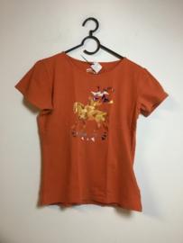 Horka  Shirt  Oranje M