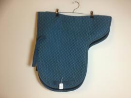 Showmaster (zadelvormig) Dekje  Turquoise  Full