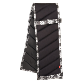 Imperial Riding Longeerpad | Black-silver