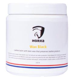 HORKA Wax Lederbescherming Zwart | 250gr