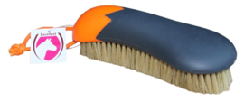 Huidglans borstel | Zwart/Oranje
