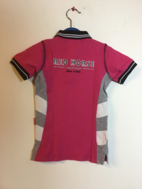 Red Horse  Polo Roze  104