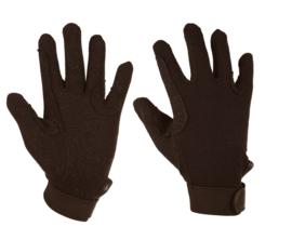 Red Horse  Handschoenen katoen | Zwart