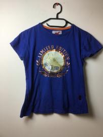 RH  Shirt    Blauw  140
