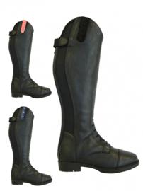 Rider Pro Junior Rijlaarzen Tumba Leatherlook | Zwart