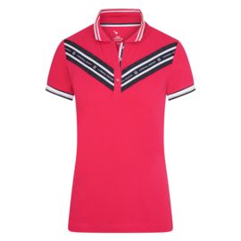 Imperial Riding Polo Shirt Love Bright Rose