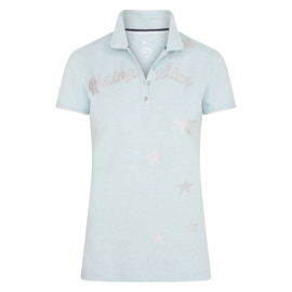 Imperial Riding Polo Shirt Time To Shine | Dusty Jade Heather