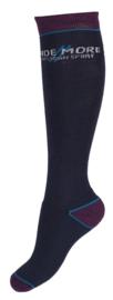 HORKA Sokken Ride More   Blauw