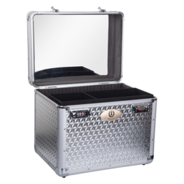 Imperial Riding Grooming box Shiny | Silver