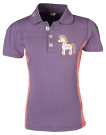 HORKA Polo Shirt Poppy Pastel Purple