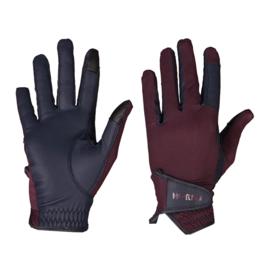 HORKA Handschoenen Equestrian Pro Bordeaux