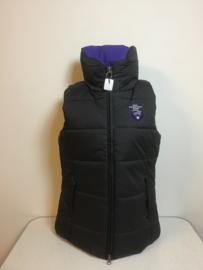 Pfiff  Bodywarmer  Zwart/Paars  XL