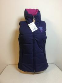 Pfiff  Bodywarmer  Blauw/Roze  XL