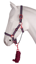 Red Horse Halsterset No. 1 Magenta