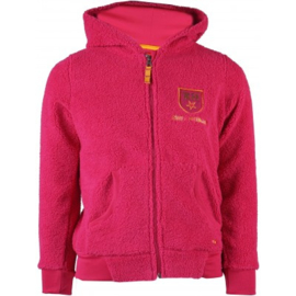 Red Horse Jacket Teddy | Hot Pink