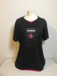 Horka  Shirt  Zwart  L