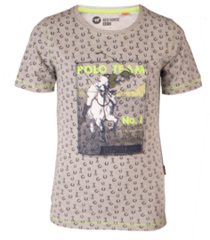 Red Horse Jongens shirt Cooper | Light Grey