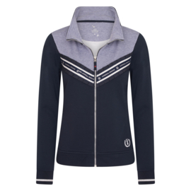 Imperial Riding Vest Sweat Cardigan Lovely Navy
