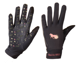 Red Horse Handschoenen Kids | Deep Black