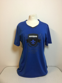 Horka  Shirt  Blauw  L