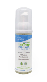 Tea Tree Ooglid en Gezichtsreiniger (Gentle) 180 ml