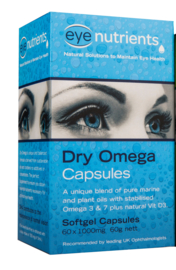 Eye Nutrients Dry Omega Capsules