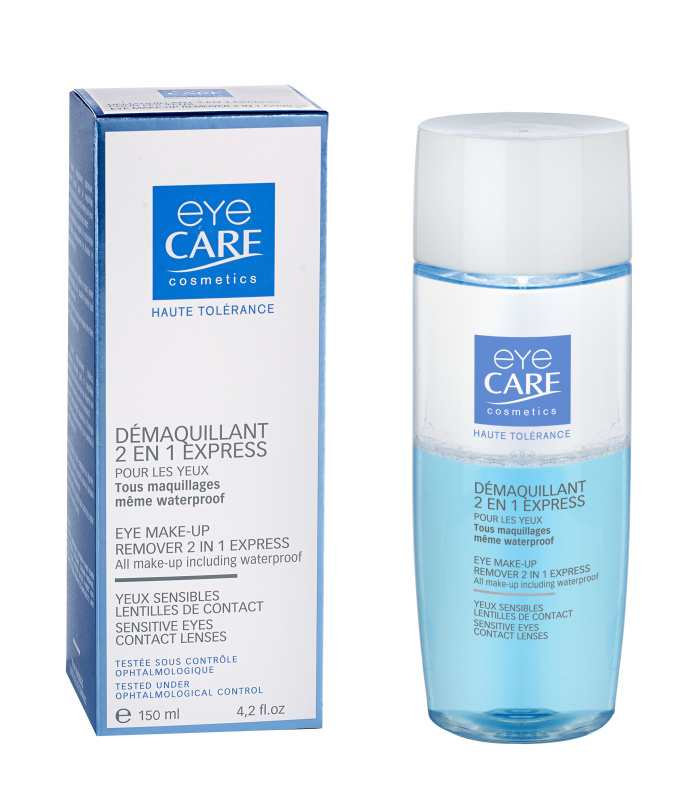 Eye Make-up Remover 2 in 1 express 150ml