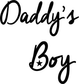 strijkapplicatie daddy's boy