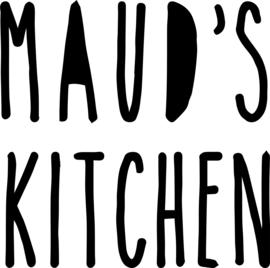 Sticker keukentje deurtje naam's kitchen
