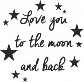 strijkapplicatie to the moon