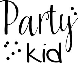 strijkapplicatie Party Kid