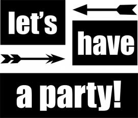 strijkapplicatie party