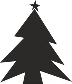 strijkapplicatie Kerstboom