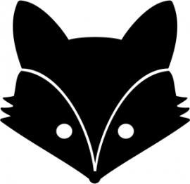 strijkapplicatie vosje