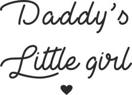 strijkapplicatie daddy's little girl