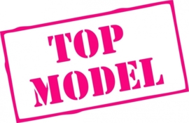 strijkapplicatie Top Model