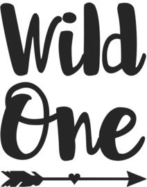 strijkapplicatie Wild One