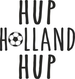 Strijkapplicatie EK 'Hup Holland Hup'