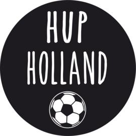 Strijkapplicatie EK 'Hup Holland' voetbal