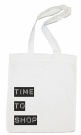 linnen tas - Time to shop